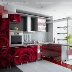 кухня мдф арт-деко фотопечать
