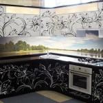 кухня в стиле арт-деко, образцы кухни, фото