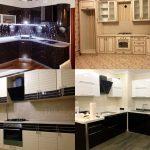 Фото готовых проектов кухни