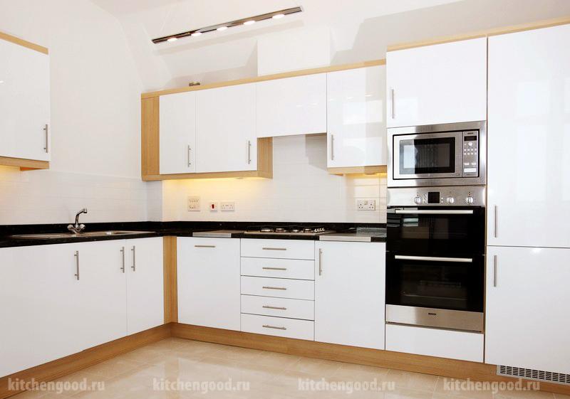 Кухонный гарнитур угловой, кантри, фото