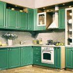 кухонный гарнитур кухни Кантри