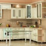 классический кухонный гарнитур массив дуба