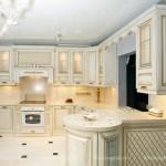 Классическая кухня угловая, фото, цены