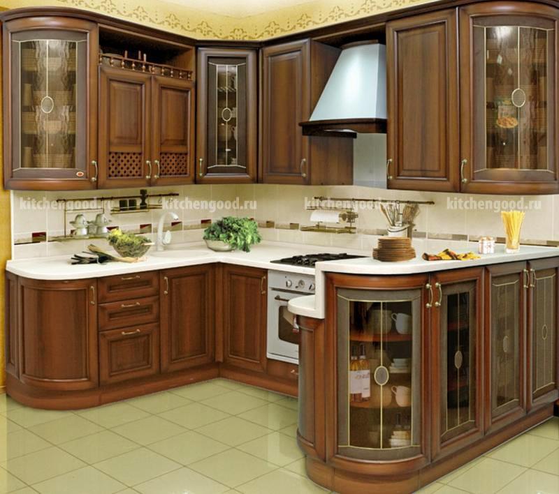Кухня Классика массив фото, цены