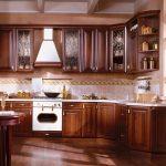 кухонный гарнитур из массива Классика