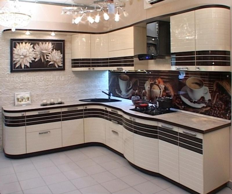 Кухня Модерн акриловая