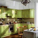 Кухня из массива Прованс