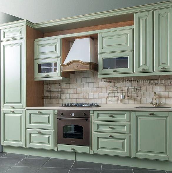 кухня классика из массива