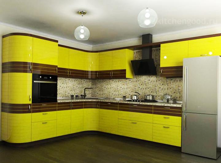Кухня акриловая Модерн