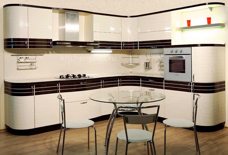 кухонный гарнитур модерн акриловый
