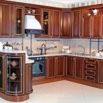 кухонный гарнитур из массива, классика, цена, фото,