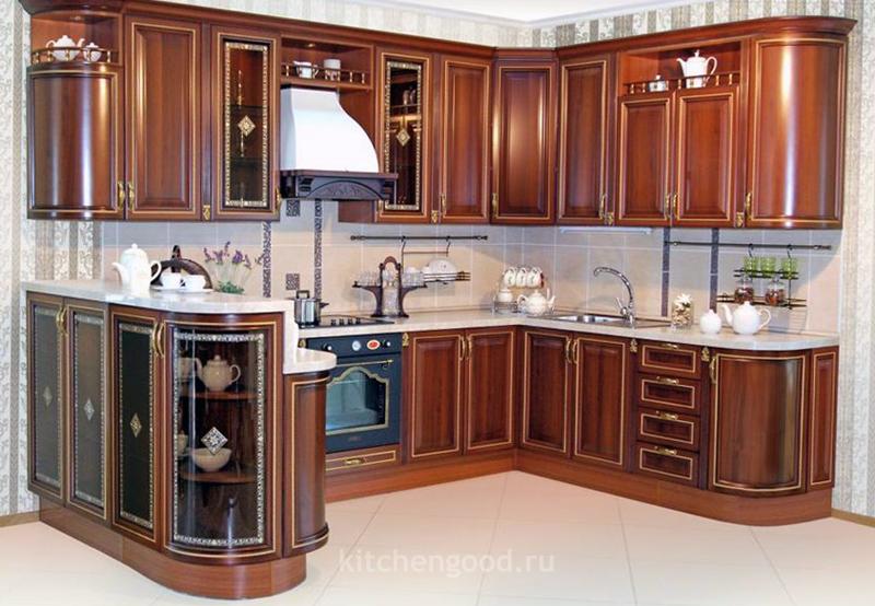 кухонный гарнитур из массива, цена, фото,