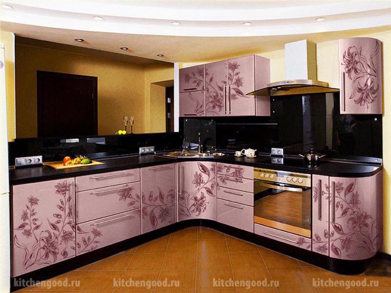 кухня Модерн фотопечать МДФ