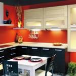 кухня в стиле Модерн, образцы кухонных гарнитуров, фото