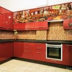 кухня с фотопечатью Модерн, образец, фото