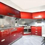 кухня в стиле хай-тек, образцы кухонных гарнитуров, фото