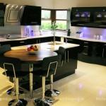 Мебель для кухни Хай Тек, кухонный гарнитур образец, фото