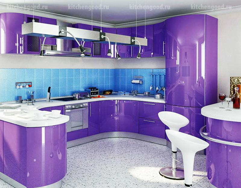 кухня Хай-Тек образец, фото