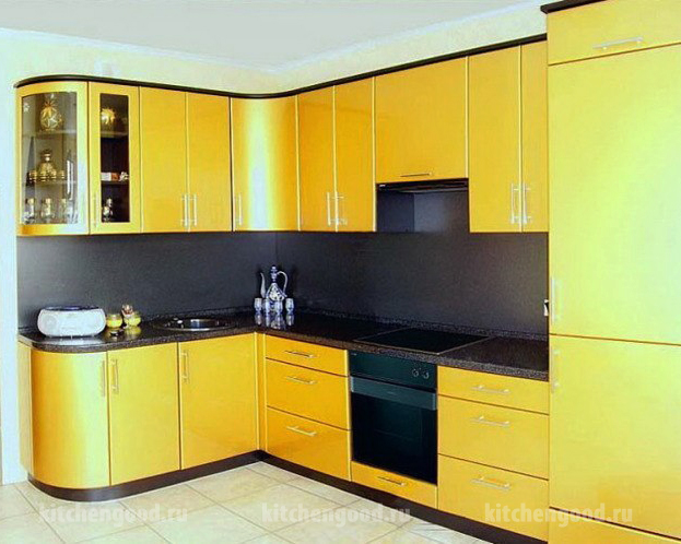 кухонный гарнитур хай-тек образец, фото