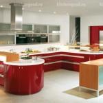 Мебель для кухни Хай Тек пластик фото,