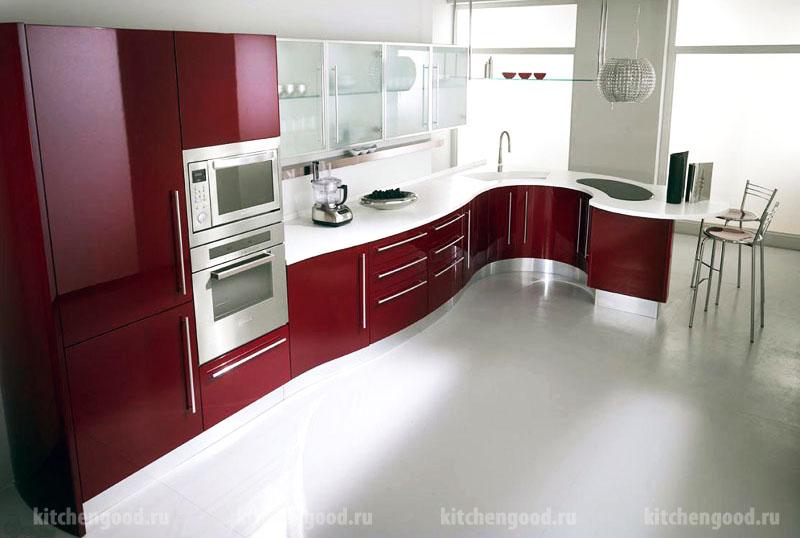 Мебель для кухни Хай-Тек пластик Arpa