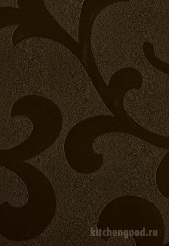 Пленка ПВХ декор аркадия бронзовая кухонный фасад фото