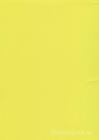 Пленка ПВХ Желтая шагрень матовая кухни фасад фото