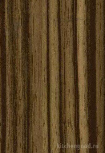 Пленка ПВХ глянец зебрано 2 кухня фасад фото образец