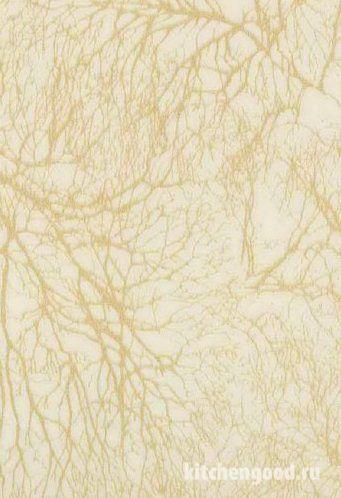 Пленка ПВХ декор золотое дерево кухонный фасад фото