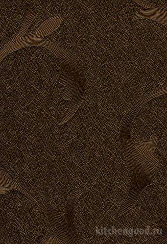 Пленка ПВХ декор лилии медные кухонный фасад фото