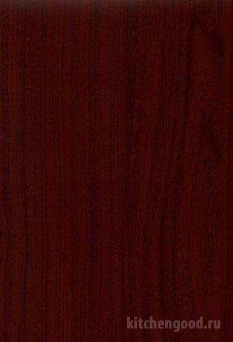 Пленка ПВХ Махагон материал кухни фасад фото