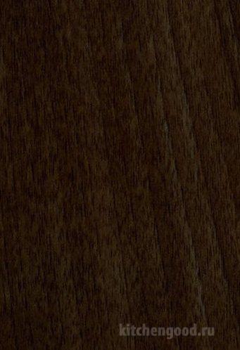 Пленка ПВХ Орех седой темный кухни материалы фасад фото