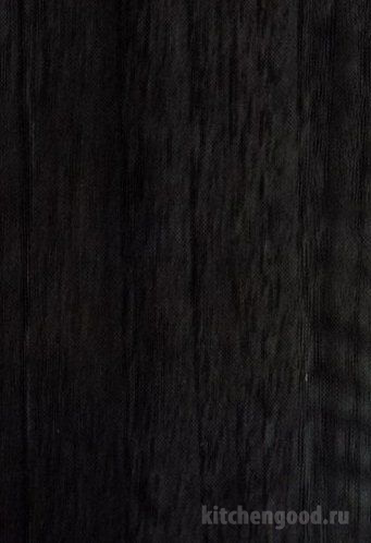 Пленка ПВХ глянец орех седой черный кухня фасад фото образец