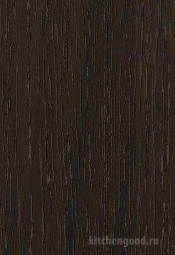 Пленка ПВХ Орех темный кухни материал фасад фото