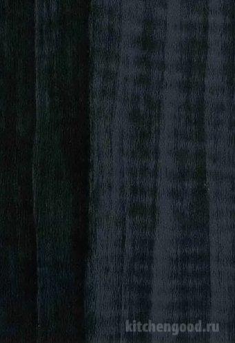 Пленка ПВХ глянец ракушка черная кухня фасад фото образец