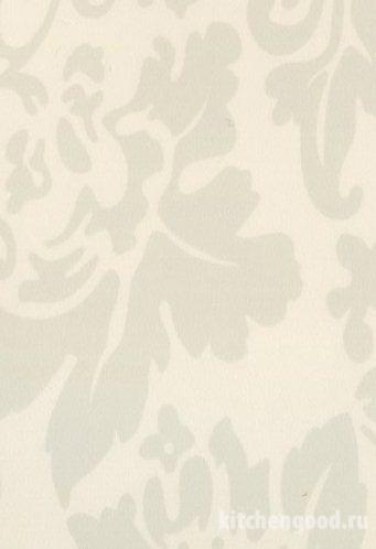 Пленка ПВХ декор флоренция белая кухонный фасад фото