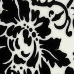 Пленка ПВХ глянец флоренция черно-белая кухня фасад фото образец