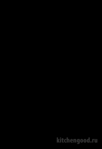 Пленка ПВХ глянец черный кухня фасад фото образец