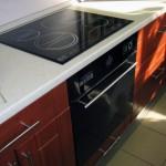 фото кухонный гарнитур с встроенной техникой