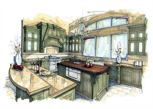 Кухни дизайнер проект