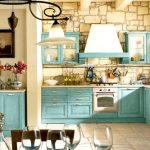 кухн прованс светлая голубая