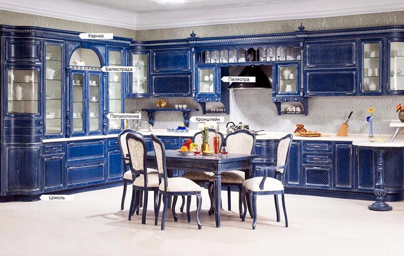 Декоративные элементы кухня классика