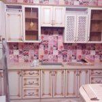 Кухня Классика с патиной золото