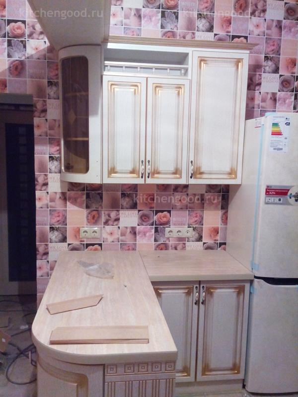 Кухня Классика с патиной
