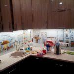 Кухня из акрилового пластика