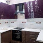 Кухня 3D фасады МДФ