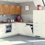 недорогая кухня ЛДСП эконом модель 009