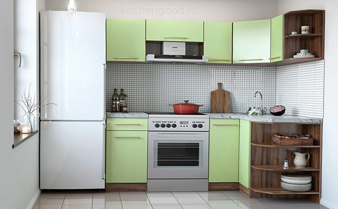 дешевая кухня ЛДСП 017