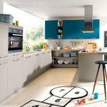 дешевый кухонный гарнитур из ЛДСП модель 020